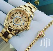 Rolex Sky-Dweller Gold Wristwatch | Watches for sale in Lagos State, Oshodi-Isolo