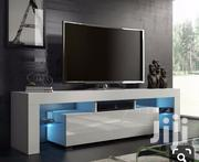 A Brand New White TV Stand With Led | TV & DVD Equipment for sale in Lagos State, Lagos Mainland