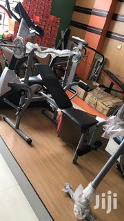 Weight Bench With 50kg   Sports Equipment for sale in Lagos State, Apapa