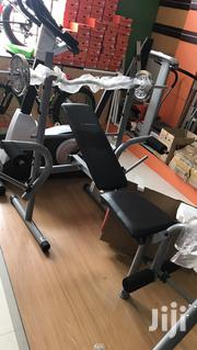 Weight Bench With 50kg   Sports Equipment for sale in Lagos State, Epe