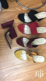 Block Heel Slippers for Ladies/Women Available in Different Sizes   Shoes for sale in Lagos State, Ojota