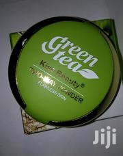 Kiss Beauty Green Tea Two-way Flawless Skin Powder | Makeup for sale in Rivers State, Port-Harcourt