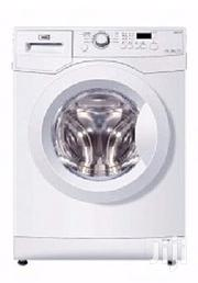 Haier Thermocool 10kg Front Load Premium Washing Machine-White | Home Appliances for sale in Lagos State, Lekki Phase 2