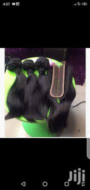 Remy Brazilian Hair With Kim Closure   Hair Beauty for sale in Lagos State, Ojota