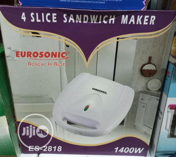 Eurosonic 4 Slice Sandwich Maker/Bread Toaster