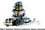 New Sets Of 25pcs German Stainless Cookware | Kitchen & Dining for sale in Abuja (FCT) State, Karu