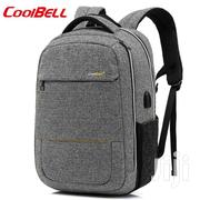 Coolbell CB-8009 Backpack With USB | Bags for sale in Lagos State, Ikeja