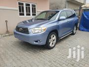 Toyota Highlander 2009 Limited 4x4 Blue | Cars for sale in Lagos State, Lagos Island