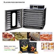 8 Layers Food Dehydrator (Dryer) Commercial Stainless Steel | Kitchen Appliances for sale in Lagos State, Lagos Mainland