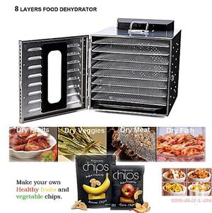 8 Layers Food Dehydrator (Dryer) Commercial Stainless Steel