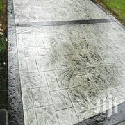 Concrete Stamped Floor Drive Way | Building & Trades Services for sale in Delta State, Ugheli