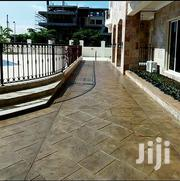 100% Pure Stamped Concrete Flooring | Building & Trades Services for sale in Ebonyi State, Ebonyi