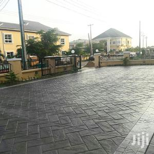 Pouded Stamped Concrete Floors In Ifo