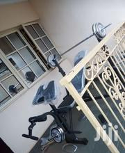 Weight Bench With 50kg Weight | Sports Equipment for sale in Lagos State, Victoria Island