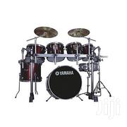 Yamaha 7 Pieces Drum Set - Red | Musical Instruments & Gear for sale in Edo State, Owan