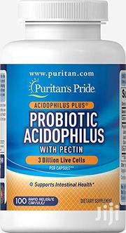 Probiotic Acidophilus With Pectin Available For Purchase | Vitamins & Supplements for sale in Abuja (FCT) State, Wuse 2
