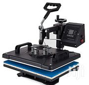 Generic 5 In 1 Digital Heat Press-machinefor T-shirt/Mug/Cap/Hat/Plate | Printing Equipment for sale in Osun State, Ife North