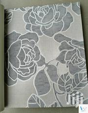 Bold Floral (Grey) Italian Wallpaper | Home Accessories for sale in Abuja (FCT) State, Gwarinpa