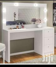 A Brand New White Dressing Table and Mirror With Drawers | Furniture for sale in Lagos State, Lagos Mainland