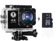 4K Wi-Fi Ultra HD Waterproof Action Camera   Photo & Video Cameras for sale in Lagos State, Ajah