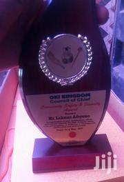Wooden Award With Printing   Arts & Crafts for sale in Lagos State, Lagos Island
