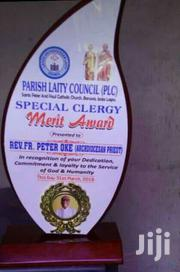 New Wooden Award With Printing   Arts & Crafts for sale in Lagos State, Surulere