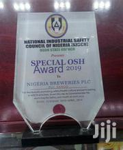 Crystal Award /Glass Award With Printing | Arts & Crafts for sale in Lagos State, Maryland