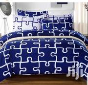 White and Royalblue Lovely Beddings Set | Home Accessories for sale in Lagos State, Yaba