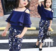High Quality Girls Top and Trousers Set | Children's Clothing for sale in Lagos State, Amuwo-Odofin