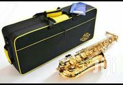 Golden Colour Saxophone   Musical Instruments for sale in Lagos State, Ojo