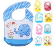 High Quality Waterproof Baby Bib With Food Catcher Pocket | Baby & Child Care for sale in Lagos State, Amuwo-Odofin