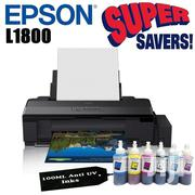 Epson L1800 A3+ Photo Printer | Printers & Scanners for sale in Lagos State, Lagos Island