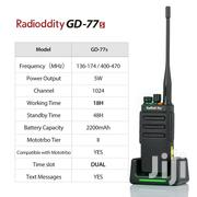 Radioddity GD-77S 1024CH VHF UHF Digital Walkie Talkies + Cable 2 Unit | Accessories & Supplies for Electronics for sale in Lagos State, Alimosho