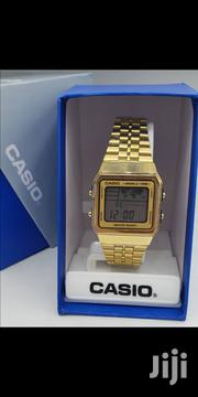 Casio Digital Gold Watch | Watches for sale in Lagos State, Oshodi-Isolo