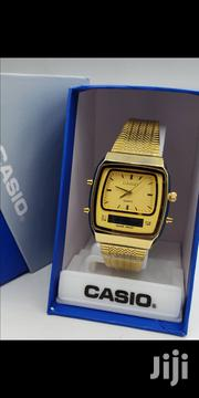 Casio Digital Analog Gold Watch | Watches for sale in Lagos State, Oshodi-Isolo