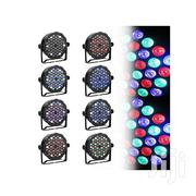 54x3w RGBW LED Light Outdoor DJ Party Club Stage Show | Stage Lighting & Effects for sale in Lagos State, Ojo
