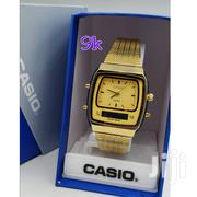 Casio Digital Analog Wrist Watch_gold | Watches for sale in Lagos State, Lagos Mainland