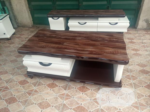 T.V Stand Shelve With Center Table