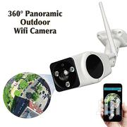 2MP 1080P Wireless Wifi 360 Panoramic IP Outdoor Camera | Security & Surveillance for sale in Lagos State, Oshodi-Isolo