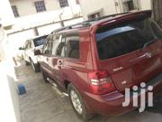 Toyota Highlander 2002 Red | Cars for sale in Lagos State, Lagos Island
