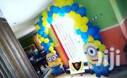 Entrance Minions Balloon Arch/ Tunnel   Party, Catering & Event Services for sale in Lagos State, Lekki Phase 1