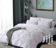 Full Size Bed Sheet Set - 4 Piece (White) | Home Accessories for sale in Lagos State, Yaba