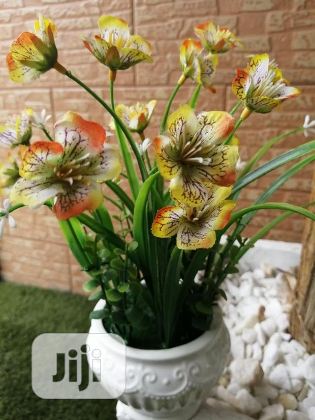 Get Durable Potted Flowers For Decoration At Sales