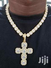 Main Original Tennis Neckchain With Pendant | Jewelry for sale in Lagos State, Lagos Island