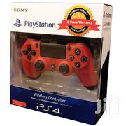 Ps4 Controller Red | Video Game Consoles for sale in Lagos State, Ikeja
