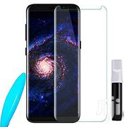 Nano Liquid Full Glue Tempered Glass With UV Light for Samsung S9plus | Accessories for Mobile Phones & Tablets for sale in Lagos State, Ikeja