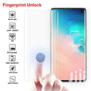 Nano Liquid Full Glue Tempered Glass With UV Light for Samsung S10 | Accessories for Mobile Phones & Tablets for sale in Lagos State, Ikeja
