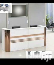 White Reception Desk Size 2.4meters | Furniture for sale in Lagos State, Ikoyi