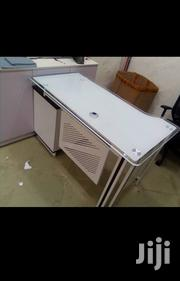 White Glass Table 1.4meters   Furniture for sale in Lagos State, Lekki Phase 1