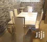 Quality 6-seater Marble Dining Table | Furniture for sale in Lagos State, Ojota